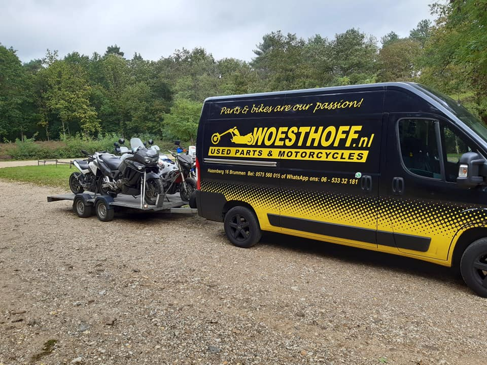 Woesthoff Used Parts & Motorcycles - Occasions Brummen